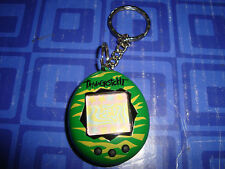 LAST 1 > Mini Tamagotchi Connection Green Camouflage CAMO Electronic Keychain