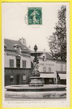 cpa Belle carte Papier glacée COLOMBES (Hauts de Seine) La Place du JET Vue RARE