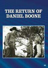 RETURN OF DANIEL BOONE (B&W) Region Free DVD - Sealed