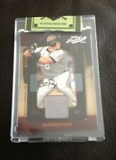 2008 DONRUSS PLAYOFF PRIME CUTS BUSTER POSEY ROOKIE RELIC AUTOGRAPH AUTO 239/249