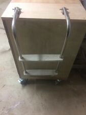 FOLD-DOWN TRANSOM LADDER FOR SMALL BOATS 2 STEP Stainless