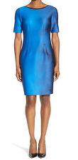 T Tahari New 'Dakota' Short Sleeve Sheath Dress Size 10 #DN 700