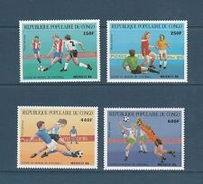 Congo république  coupe du monde de football  1986  num: PA 349/52  **