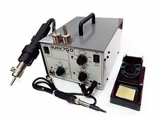 2 In 1 QUICK 700 SMD Rework Station De soldering Station Hot Air Gun