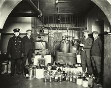 PROHIBITION ERA ILLICIT STILLS ILLEGAL MOONSHINE LIQUOR VINTAGE PHOTO  #21689