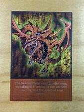 Slifer The Sky Dragon Orica ENGLISH Full Holo Mint Anime 4Kids Yugioh