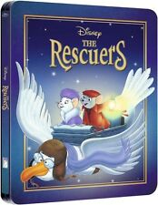 The Rescuers Zavvi Bluray Steelbook Disney Brand New Sealed