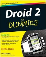 Droid 2 for Dummies - Configuration, Interaction, Email, Telephone, Apps 2010