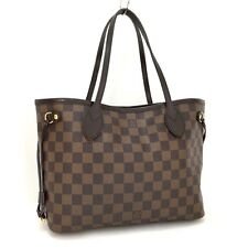 100% Auth Louis Vuitton Damier Neverfull PM Tote Hand Bag /233