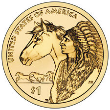2012 D $1 Native American - Spread of the Horse