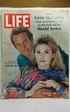 Life Magazine October 1968 Paul Newman Senator McCarthy World Series