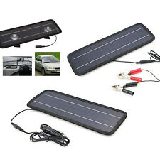 2015 Smart Portable Solar Panel Power Battery Charger 12V 5W for Car Motorcycle