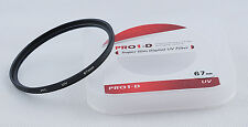 JYC 67mm UV Ultra Violet Filter Lens Protector for Canon Nikon Sony DSLR Camera
