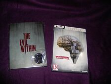 PC NEW - The Evil Within - LIMITED EDITION + STEELBOOK + PIN  - SPANISH ITALIAN