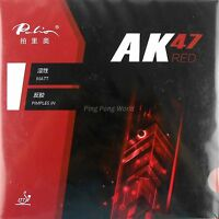Palio AK47 AK-47 AK 47 RED Matt H45-47 Pips-in Table Tennis Rubber Sponge