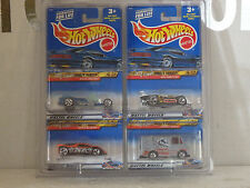 MATTEL HOT WHEELS TONY HAWK AND ATTACK PACK SERIES. SETS OF 4 EACH.1/64