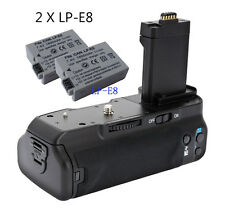 MeiKe MK-550D BG-E8 Battery Grip for Canon 550D 600D 650D 700D +2x LP-E8