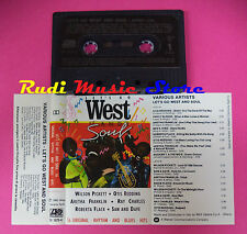 MC LET'S GO WEST AND SOUL compilation OTIS REDDING PERCY SLEDGE no cd lp dvd vhs
