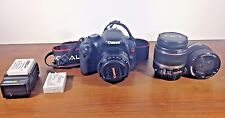 Canon Rebel EOS T2i Camera WITH 50 mm Lens, 18-55mm Lens and Composer Pro Lens