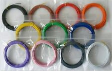 110m 7/0.2mm Equipment Wire Pack 10m x 11 Colours - 24 AWG - Stranded
