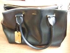 Lovely Designer 100% Genuine Ralph Lauren Black Patent Bag