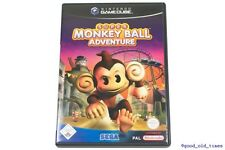 # Super Monkey Ball Adventure alemán Nintendo GameCube juego // GC & Wii #