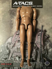 "Caltek International Military A-TACS 12"" Nude Body loose 1/6th scale"