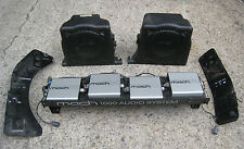 """94-04 Ford Mustang Mach 1000 Audio System 10"""" Subwoofers Amps Mounting Brackets"""