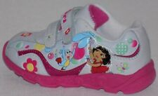 Nickelodeon Dora The Explorer Toddler Girl Light Up Sneakers   Size: 9
