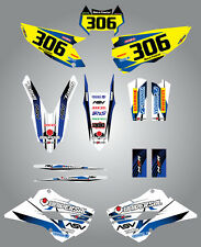 Full  Custom Graphic  Kit - STORM - Husaberg FE - TE 2013 2015 stickers / decals