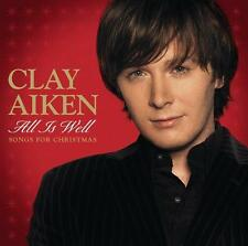 All is Well: Songs for Christmas [WalMart Exclusive] [EP] by Clay Aiken (CD,...