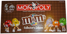 M&Ms MONOPOLY BOARD GAME COLLECTOR'S EDITION Pewter TOKENS 2007 FAMILY COMPLETE