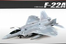 Academy Plastic Model kit 1/48 F-22A Air Dominance Fighter Raptor #12212