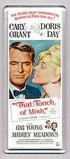 THAT TOUCH OF MINK movie poster LARGE 'wide style' FRIDGE MAGNET - DORIS DAY