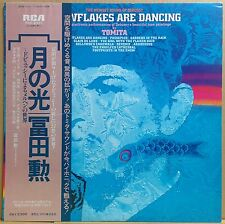 ISAO TOMITA / SNOWFLAKES ARE DANCING LP JAPAN Synth Moog BEATNUTS samples