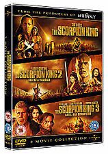 THE SCORPION KING TRILOGY DVD BOX SET PART 1 2 3 MOVIE FILMS Brand New Sealed UK
