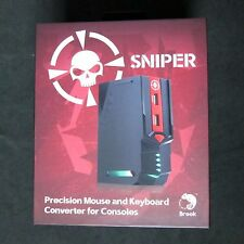 Brand New Brook Sniper Mouse & Keyboard Converter to for PS3 PS4 XBOX 360 One