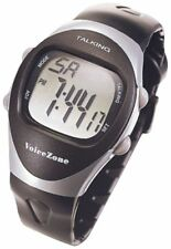 Unisex 4-Alarm Talking Sports Watch for the Blind, Speaks Current Time and Date