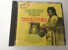 Unite The World Prince Lincoln and the Royal Rasses RARE REGGAE CD NOT TROJAN