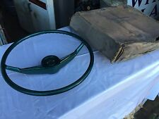 NOS 55-56 PACKARD STEERING WHEEL CLIPPER ( GREEN )
