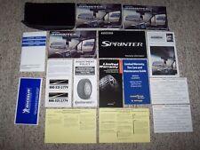 2007 Dodge Freightliner Mercedes Sprinter 2500 3500 Owner User Manual Set NEW