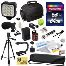 Advanced Accessories Kit for Sony HDR-TD30 HDR-HC9 NEX-VG10 NEX-VG20 Camcorder