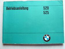 Betriebsanleitung - BMW E12 - 520, 525, 10.1974, 132 Seiten