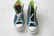 NIB Converse double upper 141266F multi color & tongue sneaker mens 12 womens 14