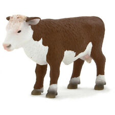 Hereford-Kalb stehend 8 cm Bauernhof Mojo 387068