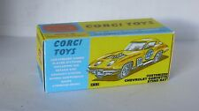 Repro Box Corgi Nr.337 Customized Chevrolet Corvette Sting Ray