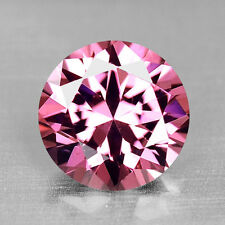 1.06CTS PRECISION ROUND DIAMOND CUT PURPLE PINK SPINEL VIDEO IN DESCRIPTION