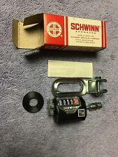 "NOS SCHWINN APPROVED 20"" STINGRAY / OTHER  BICYCLE CYCLOMETER PART No.02 820"