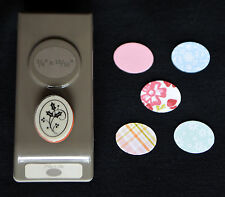 Stampin Up! SMALL OVAL punch gr8 for making Easter Eggs + BONUS Cling Stamp