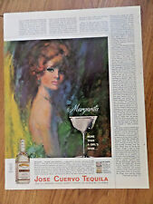 1966 Jose Cuervo Tequila Ad  Margarita More than a Girl's Name
